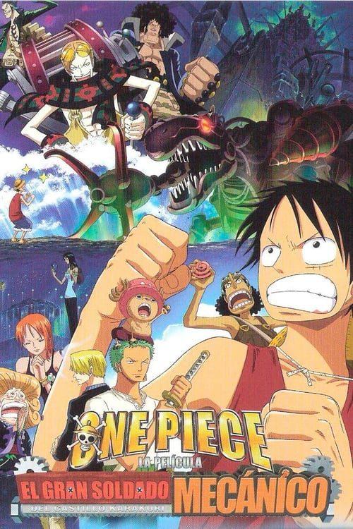 One Piece: El soldado gigante mecánico del castillo Karakuri