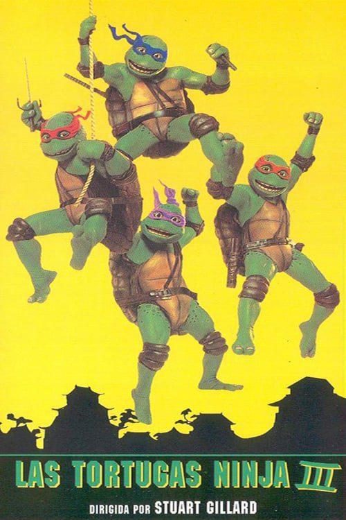 Las Tortugas Ninja 3: Viaje al pasado