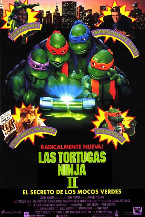 Las Tortugas Ninja 2: El secreto del Ooze