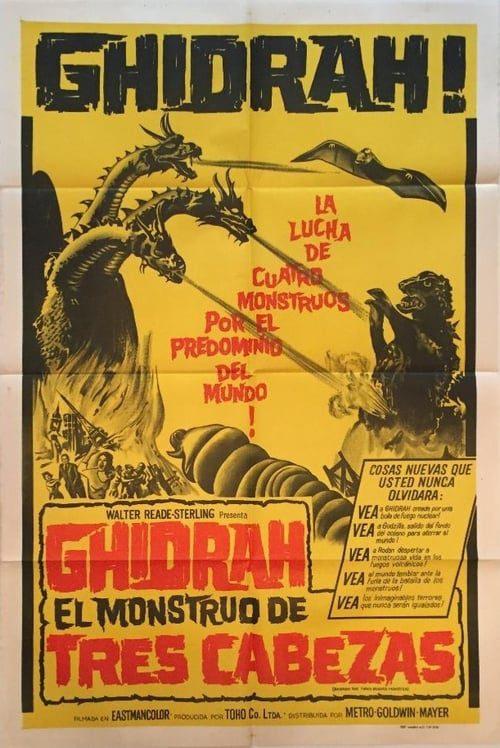 Ghidra: El monstruo de tres cabezas